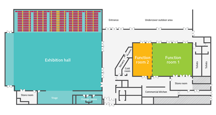 Bundaberg Multiplex floor plan